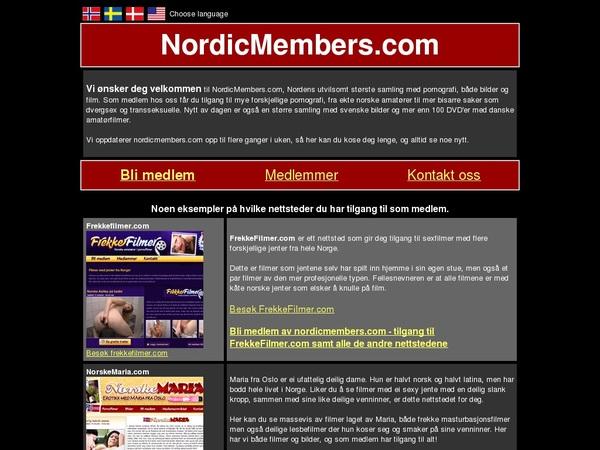 Free Nordic Members Trial Membership