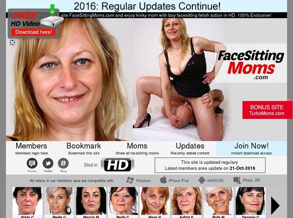 Premium Accounts Free Facesittingmoms