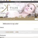 Kimtylor.modelcentro.com Paypal Option